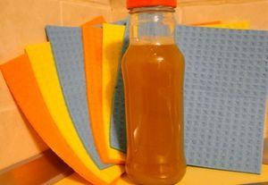 Гель для мытья посуды: обмылки использованного натурального мыла вода