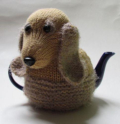 Ravelry: Cocker Spaniel Tea Cosy pattern by Susan Cowper