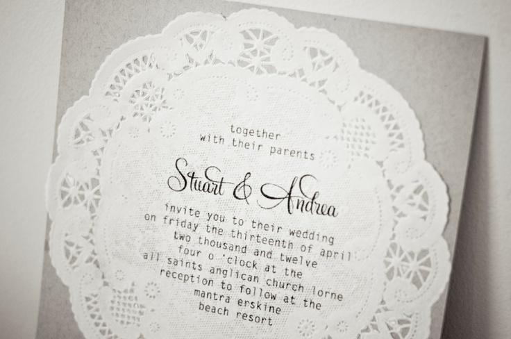 Doily Invite