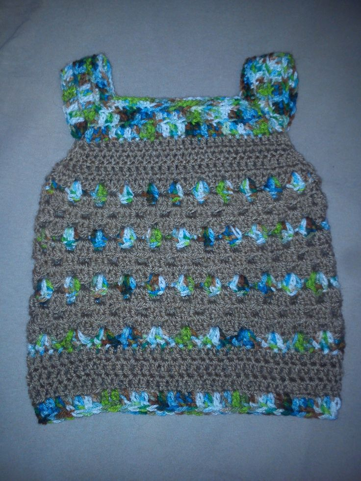 crochet, for baby boy, one piece, no needle needed