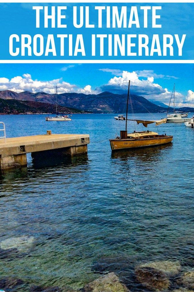 Can't decide what you want to do and see in Croatia? Let this Croatia itinerary be your guide! http://www.littlethingstravel.com