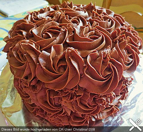 Schokolade-Praliné Creme