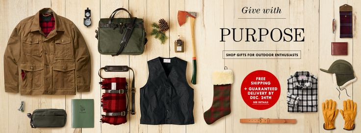 FILSON. American Brand: Quality Outerwear, Outdoor Clothing, and Bags