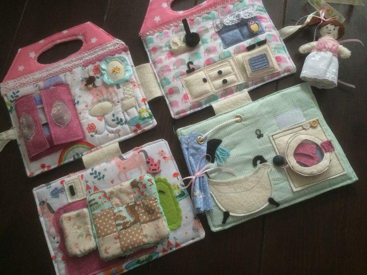 Fabric Dollhouse ❤️ Rosa&Grau https://m.facebook.com/RosaGrau-296772607159694/