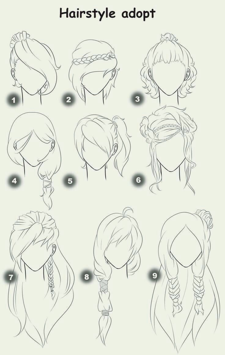 Frisur Nehmen Sie Text Frau Madchen Frisuren Wie Manga Anime Haar Zeichnen Anime Haare Haare Zeichnen Pony Stylen