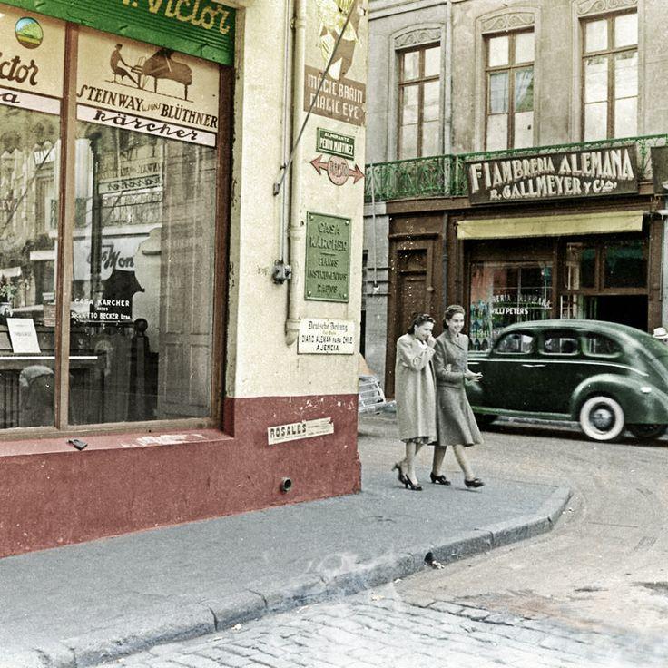 calle Almirante Pedro Martínez de Valparaiso en 1941 2.