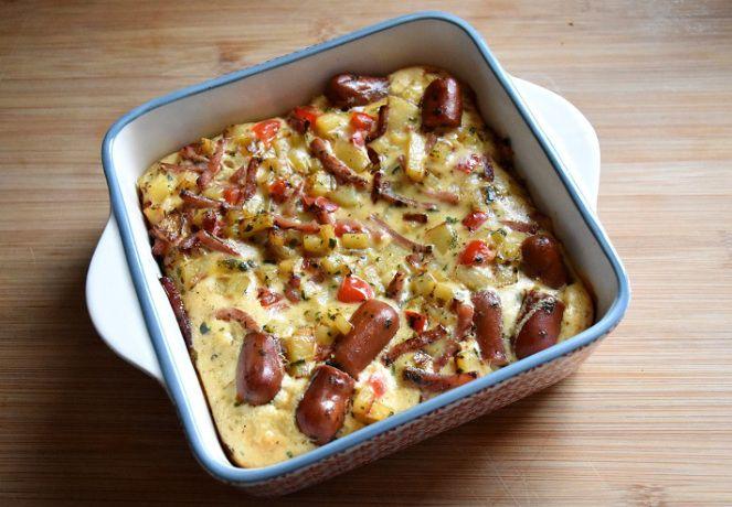 Deze frittata kan je zowel als ontbijt, brunch, lunch als hoofdgerecht eten, lekker veelzijdig!
