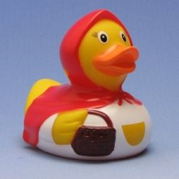 Rubber Duck Little Red Riding Hood - Rubber Duck Shop