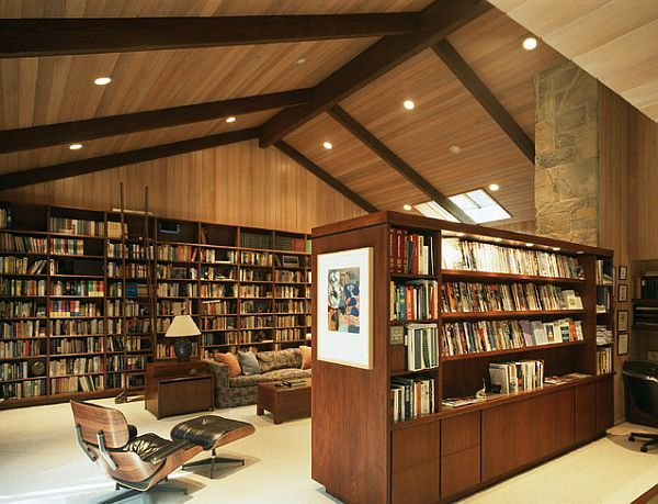 creative home library designs for a unique atmosphere - Library Design Ideas