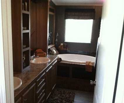 Best Mobile Homes Images On Pinterest Mobile Homes Living - Mobile home bathroom vanity for small bathroom ideas
