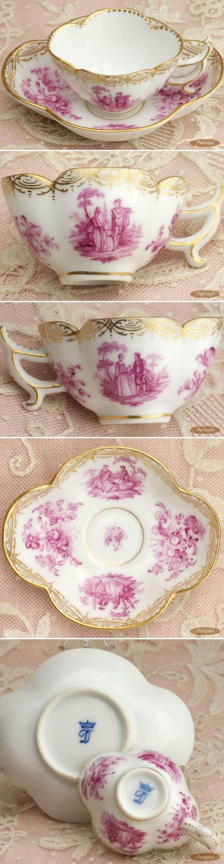 Tea Cup.. Dresden 1863-1882...♥♥...