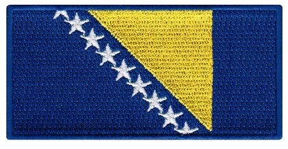 Bosnia and Herzegovina Flag Embroidered Patch Iron-On Bosnian National Emblem Cypress Collectibles Embroidered Patches, http://www.amazon.com/dp/B0066A71HS/ref=cm_sw_r_pi_dp_9BCNpb1S4NDR2