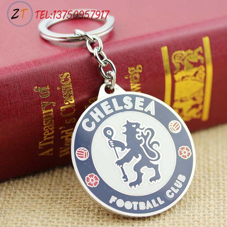 Футбольные фанаты мода брелоки челси футбольный клуб логотип брелок ювелирных украшений брелок