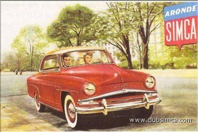 Simca Aronde Grand Large 1956 ✏✏✏✏✏✏✏✏✏✏✏✏✏✏✏✏ IDEE CADEAU / CUTE GIFT IDEA  ☞ http://gabyfeeriefr.tumblr.com/archive ✏✏✏✏✏✏✏✏✏✏✏✏✏✏✏✏