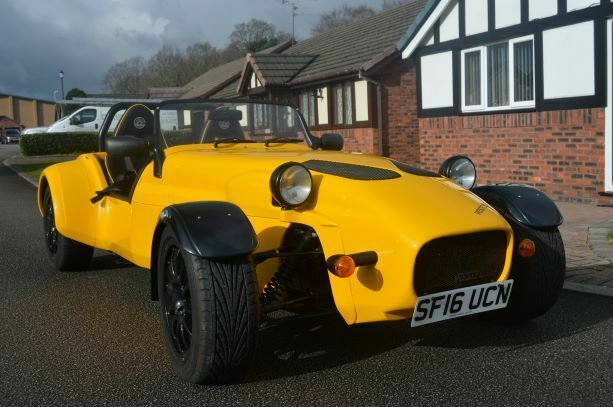 Ad - Westfield SEIW 2 Ltr ZETEC, Yellow, only 1735 miles  | Kit Cars
