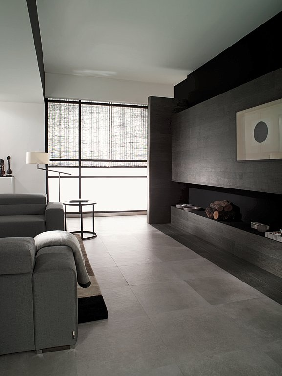 Porcelanosa 'Aston Silver' Tile | Floor Tile | Available to Order In at Ceramo
