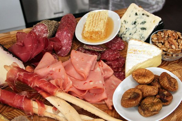 Charcuterie and cheese plate 101