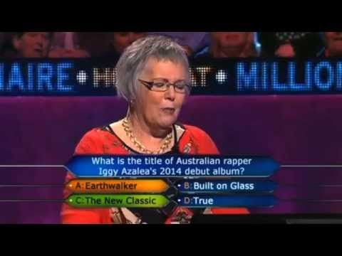 In Hearts Wake's 'Earthwalker' as a choice on 'Who Wants to Be a Millionaire?'hahaha hilarious