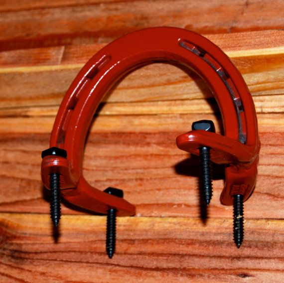Sliding Barn Door Handle Hardware From Horseshoes. Used For Rolling Barn  Doors.