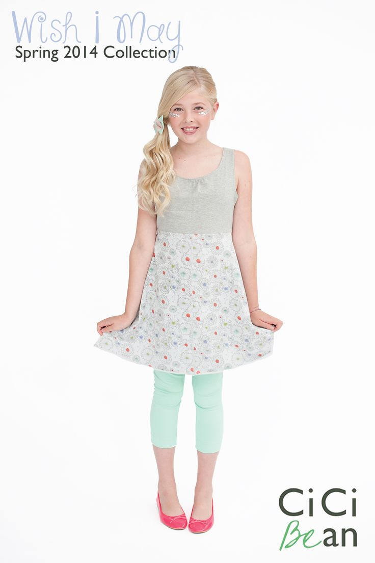 One Wish Tunic - Wish I May Collection | CiCi Bean - clothing for tween girls. | Contact your local Play Stylist or shop online at www.peekaboobeans.com