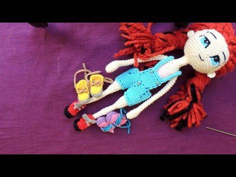 Zapatos para Muñeca a Crochet - Modelo #3 - Parte 1
