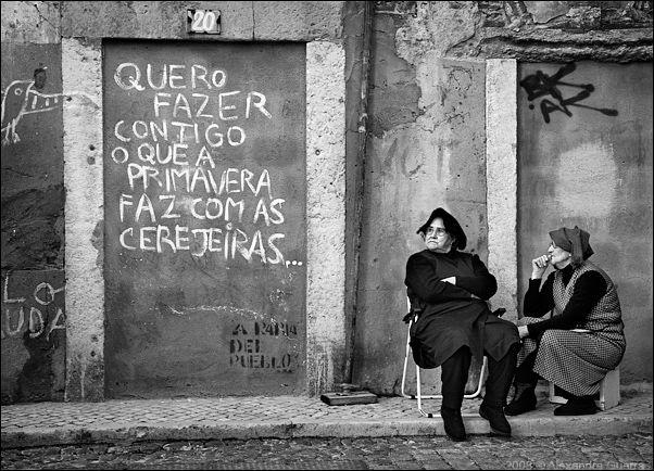 Arte callejero en Alfama, Lisboa | Portugal Turismo #lisboa #alfama
