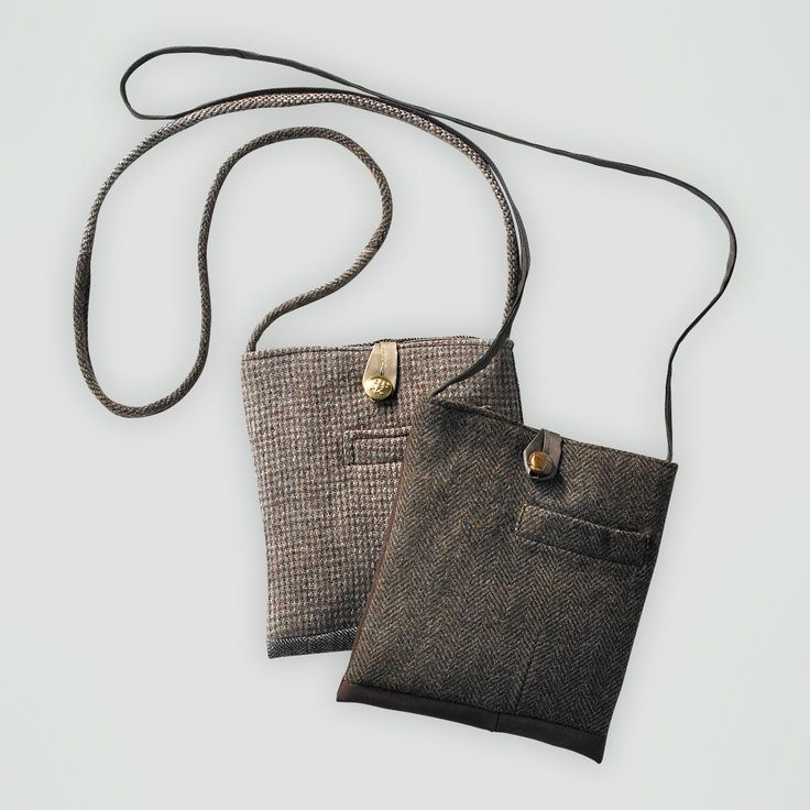 These bags are made from old men suits.... - ZERO WASTE WEEKZERO WASTE WEEK