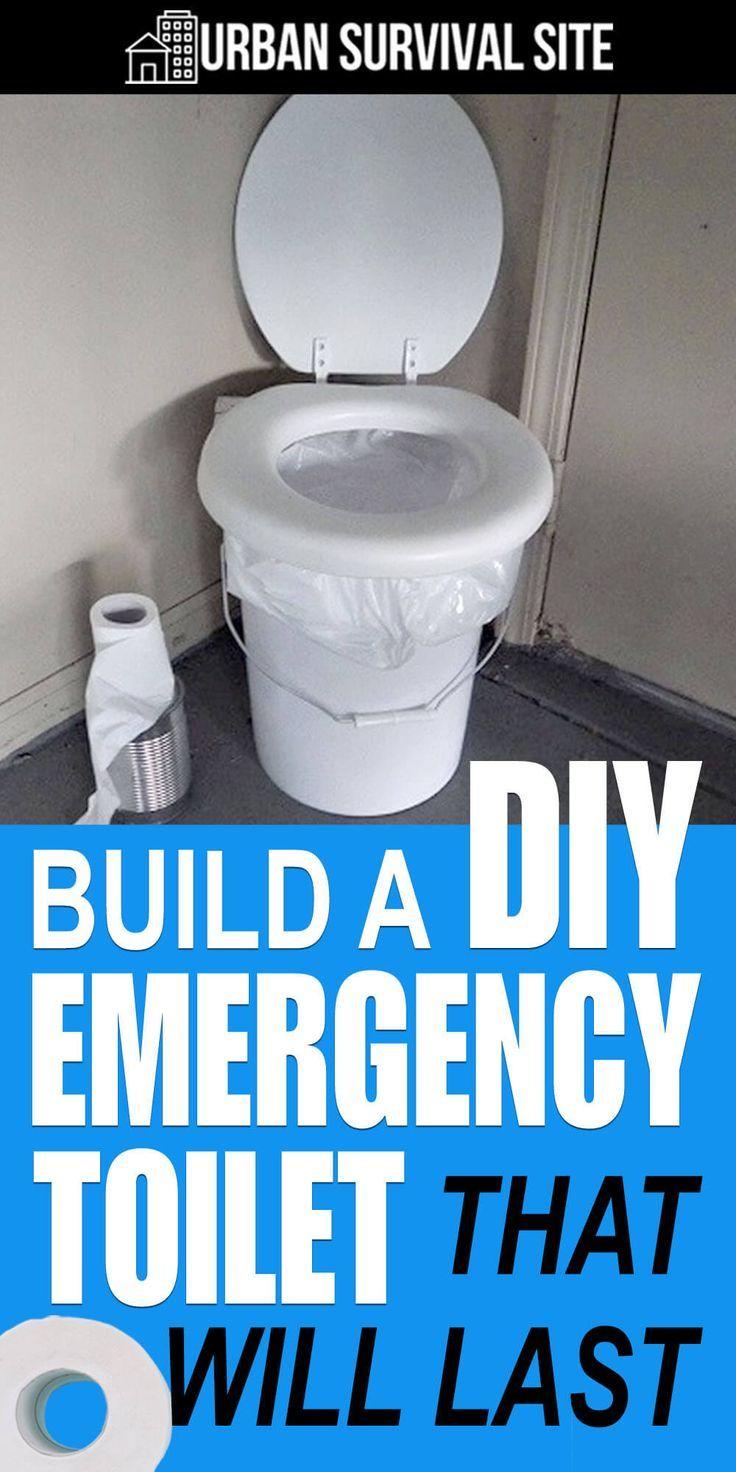 Build A Diy Emergency Toilet That Will Last Urban Survival Site Urban Survival Prepper Survival Emergency Preparation