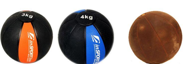 Medicijnballen voor oefeningen thuis