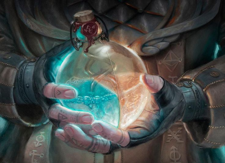 Alchemist's Vial - Magic Origins Art