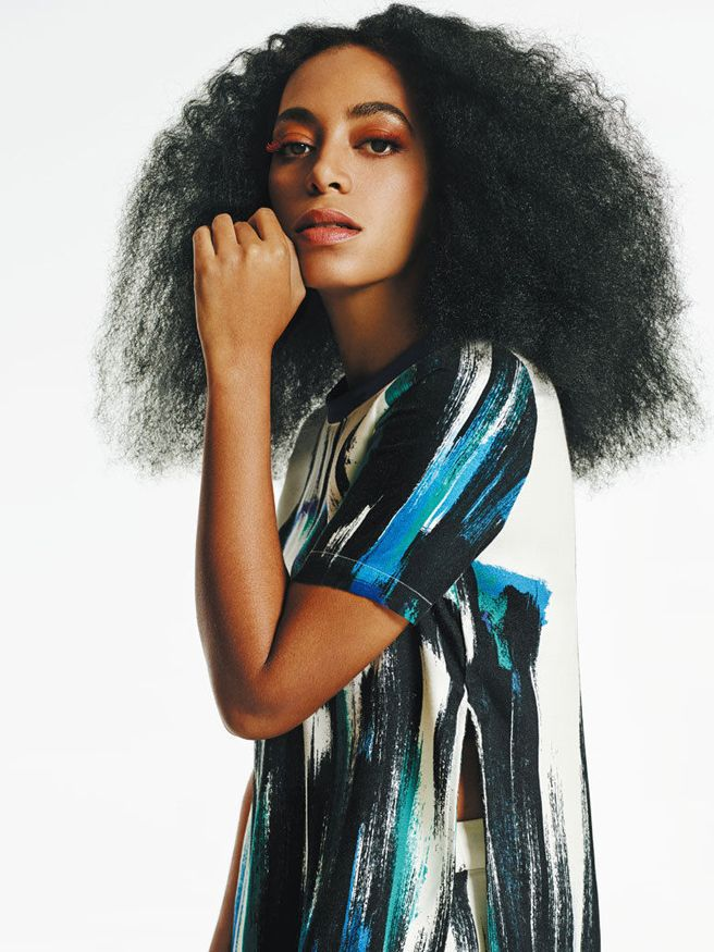 Solange Knowles for Eleven Paris - Solange Is Impossibly Cool as the Face of Eleven Paris - Elle
