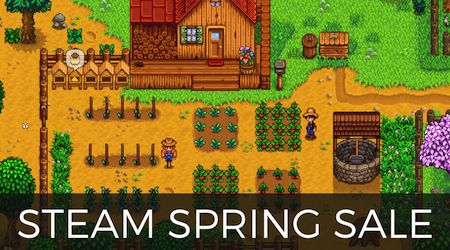 You can save up to $60425 with Steam's Spring Sale