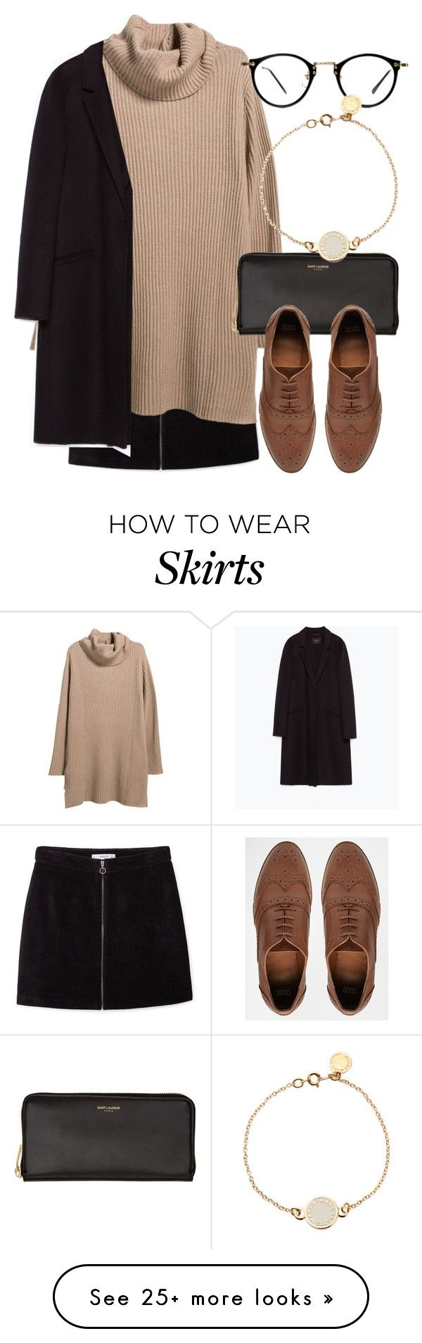 """Untitled #5148"" by laurenmboot on Polyvore featuring MANGO, Violeta by Mango, Yves Saint Laurent, ASOS, Zara, Marc by Marc Jacobs, women's clothing, women, female and woman"