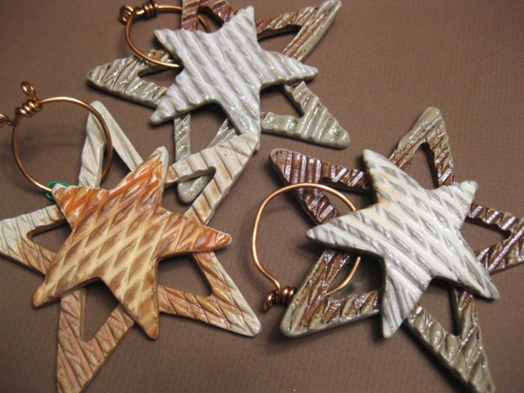 Double Stars - Really like the layers and the wire hanger!