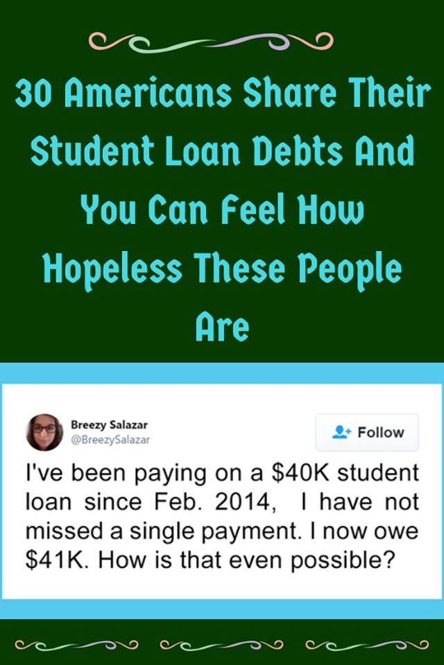 30 Americans Share Their Student Loan Debts And You Can Feel How