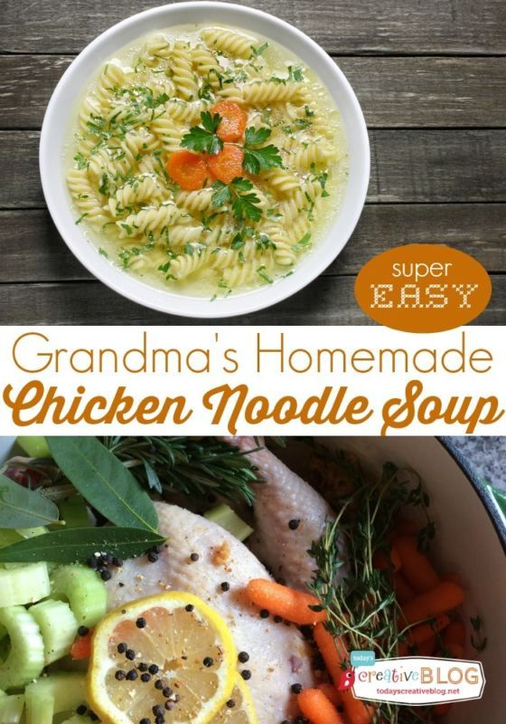 Homemade chicken noodle soup doesn't have to be difficult. It's all about fresh and simple ingredients that pack delicious flavor. Even the beginner cook can make the most delicious pot of chicken noodle soup that will have everyone wondering if her grandmother dropped it off. Follow along as eBay shares the secrets to making the ultimate comfort food – grandma's homemade chicken noodle soup.