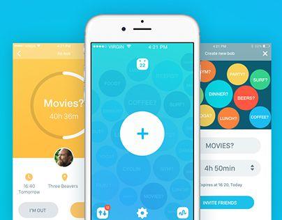 Bobber UI/UX - via @designhuntapp