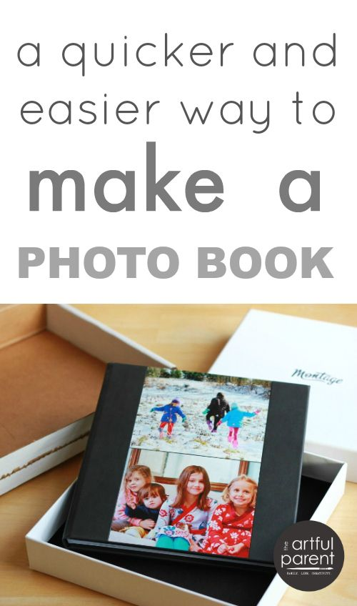 A quicker and easier way to make a photo book -- Just what I needed!