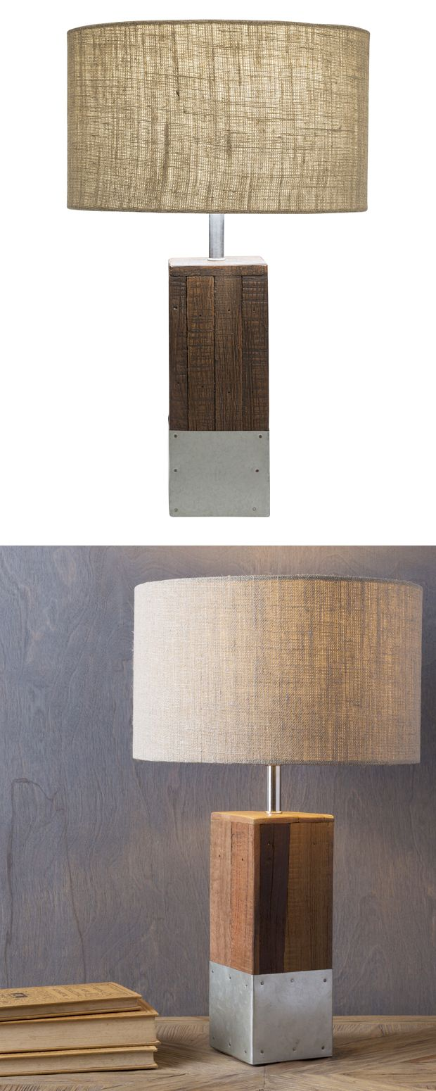 Choose a light that deserves a double take. Our Harper Table Lamp is crafted…