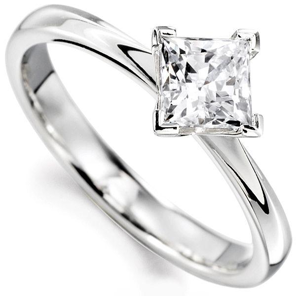 25 best ideas about princess cut diamonds on pinterest cushion ring diamond ring cuts and cushion cut diamond ring - Princes Cut Wedding Rings