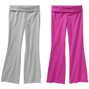 Danskin Now - Girls' Yoga Pants, 2 Pack Value Bundle (Available in 3 Colors): Color