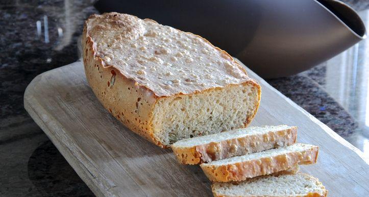 Eltefritt brød i Lekue