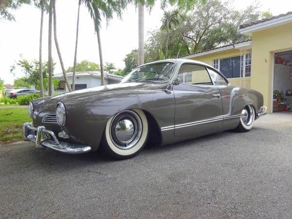 1961 VW/Volkswagen Karmann Ghia myytävänä - Klassikkoauton mainos CollectionCar.com:ista.