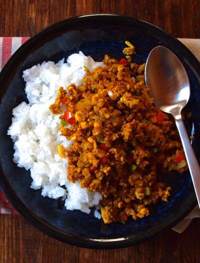 豆腐ドライカレー Tofu Dry Curry
