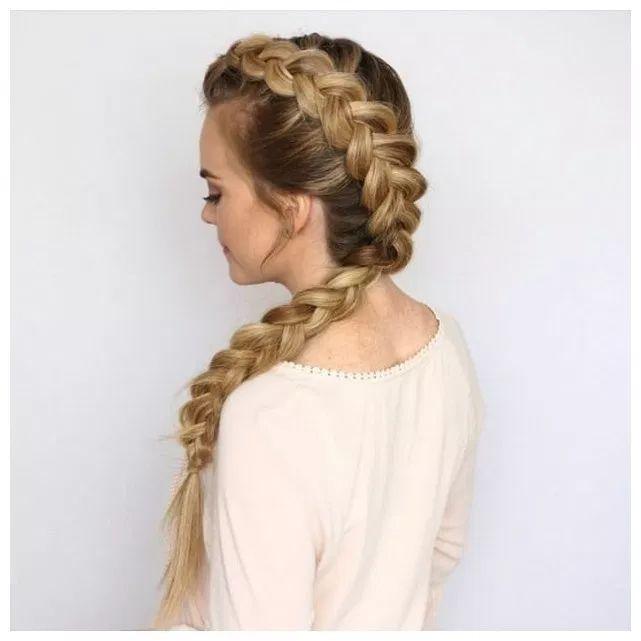 120 unique braided ponytail hair tutorial page 00014 | Armaweb07.com