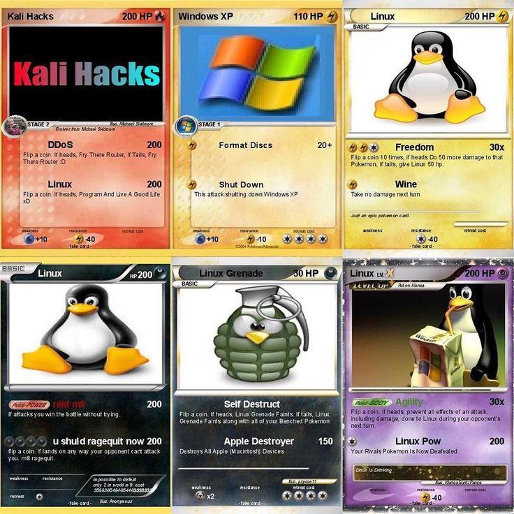Some of the coolest shit I've ever seen. #linux #linuxpenguin #linuxtux #tuxthepenguin #superuser #root #windowsxp #kalilinux #ubuntu #redhat #opensuse #debian #opensource #operatingsystem #penguin #programming #networkadmin #systemadmin #nerd #pokemon #pokemonex #techhumor #computers #computerscience #ddos #fedora #hack #hacker #ethicalhacking #pcgamer by koreyl33