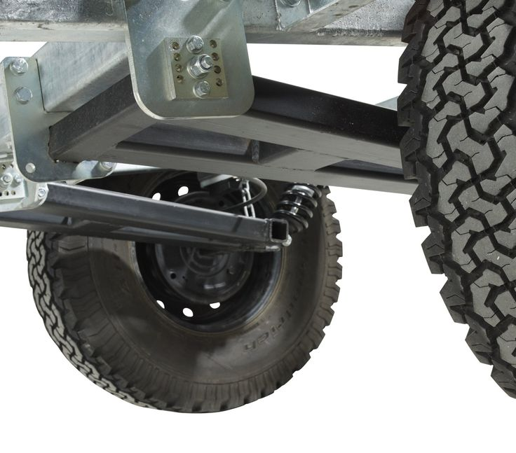 Chaser Adventure Trailer Chassis Construction Detail