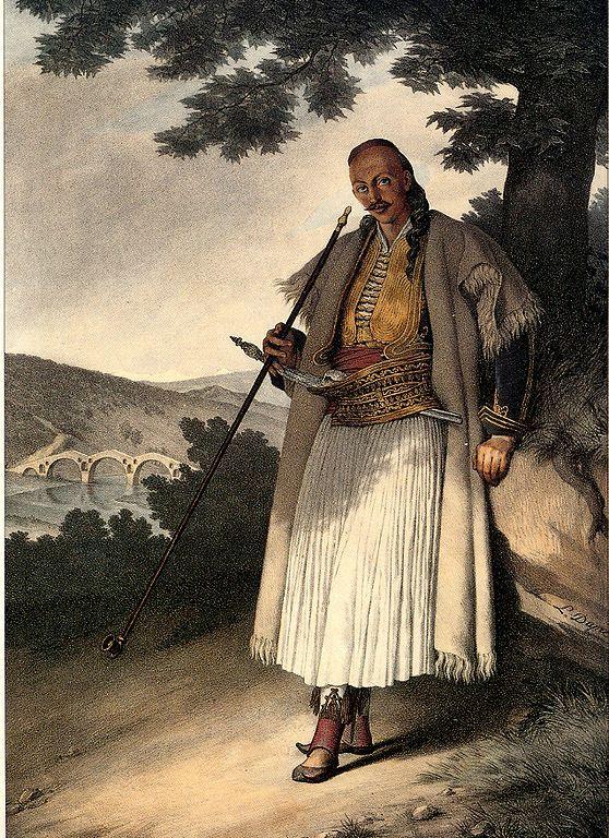 Λουί Ντυπρέ: Έλληνας πολεμιστής από τα Γιάννενα - Louis Dupré: Greek man from Yanina.