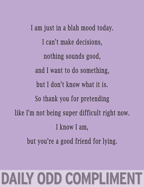 """Blah Mood"" story of my poor best friends life"