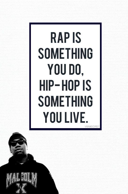 Rap music is part of Hip-hop culture